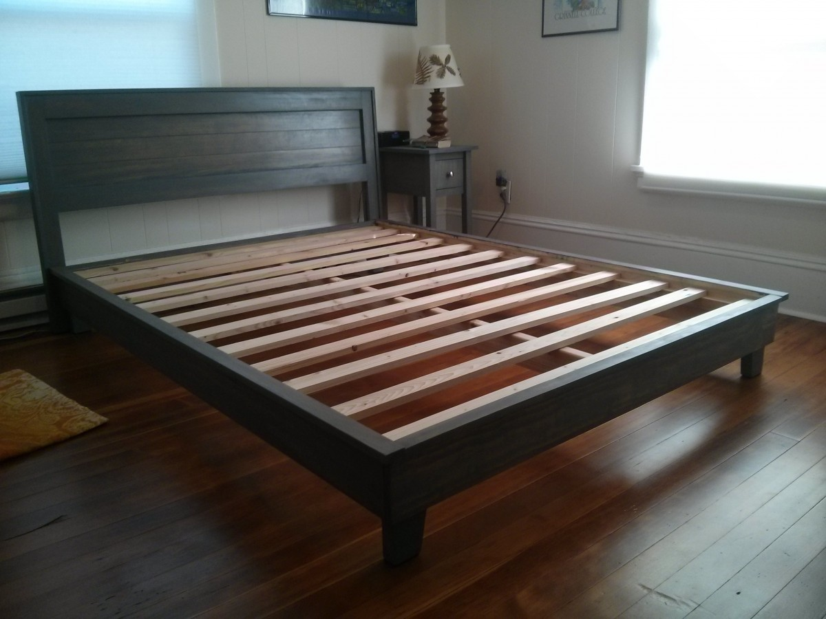 Bed and Nightstands | Jonathan\'s Projects