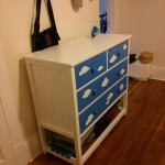 The finished dresser
