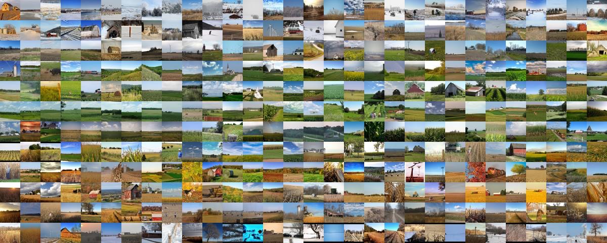 1 picture per day, of Iowa farms